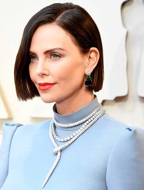 Charlize Theron Short Hairstyles-10