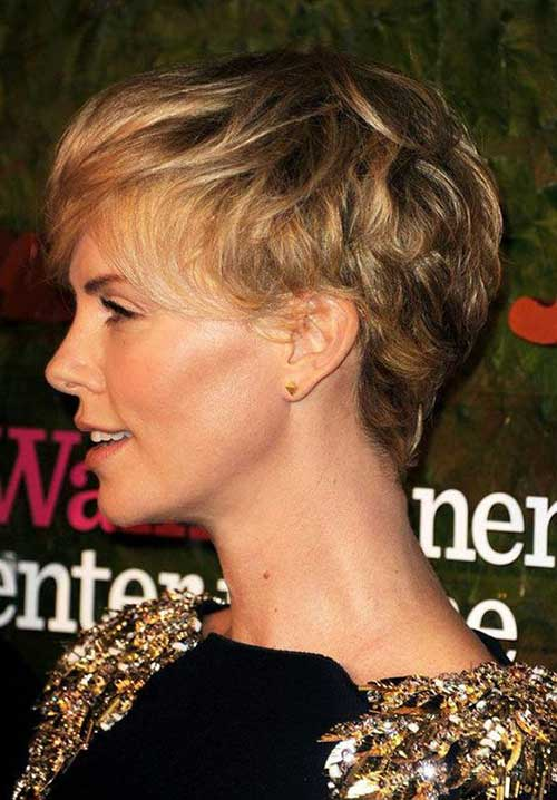 Charlize Theron Short Hairstyles-12