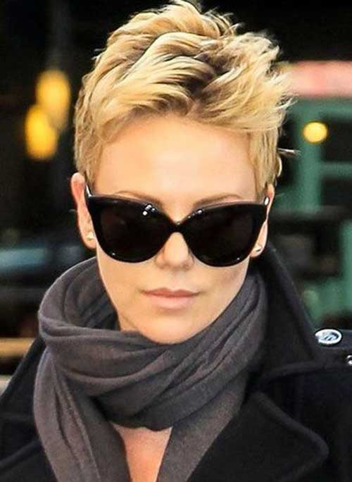Charlize Theron Short Hairstyles-14