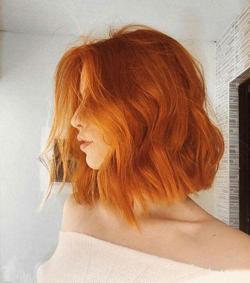 Haircut for Short Wavy Hair Female-22