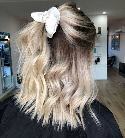 Cute Fall Hairstyles for Short Hair-6
