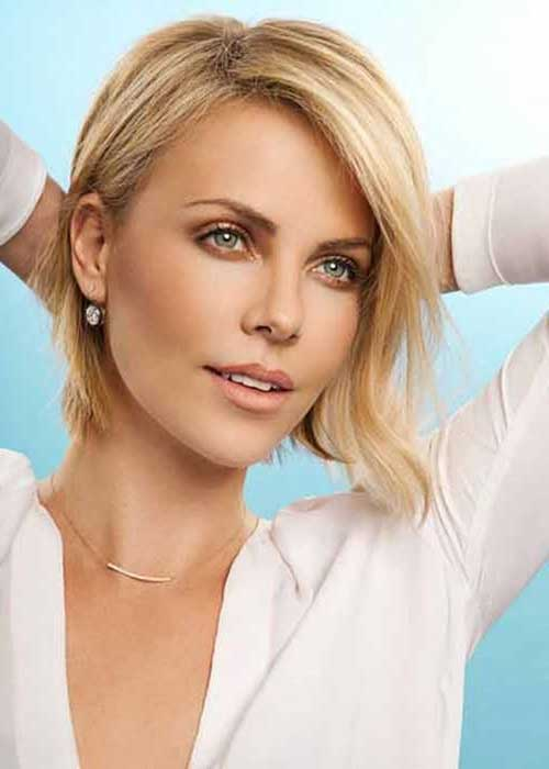 Charlize Theron Short Hairstyles-8