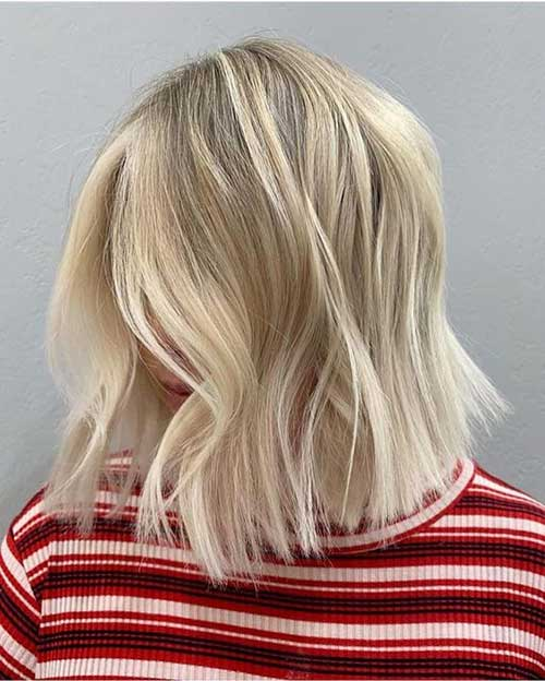 Cute Fall Hairstyles for Short Hair-9