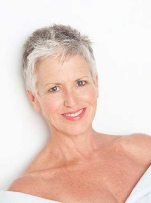 Modern Short Haircuts for Over 50