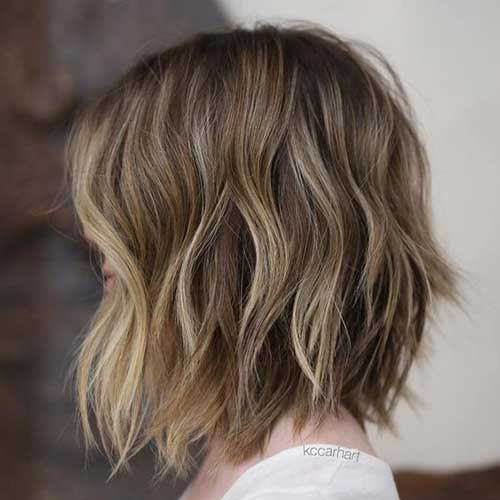 Short Hairstyles with Highlights