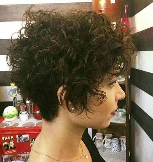 Super Curly Short Hair