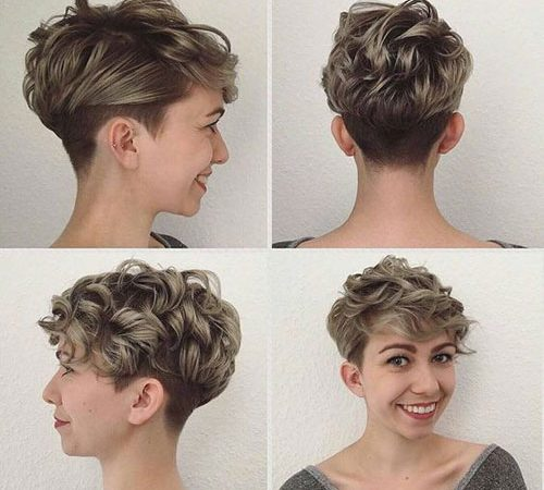 20 Stylish Super Short Curly Hair for Ladies