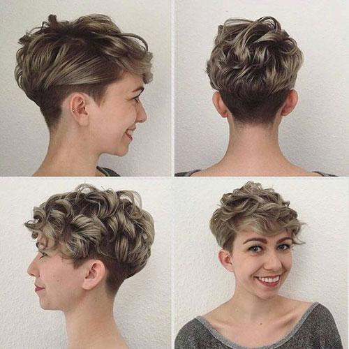 20 Stylish Super Short Curly Hair For Ladies Short Hairdo