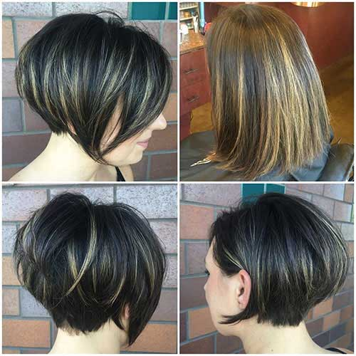 Dark Brown Bob Hairstyles
