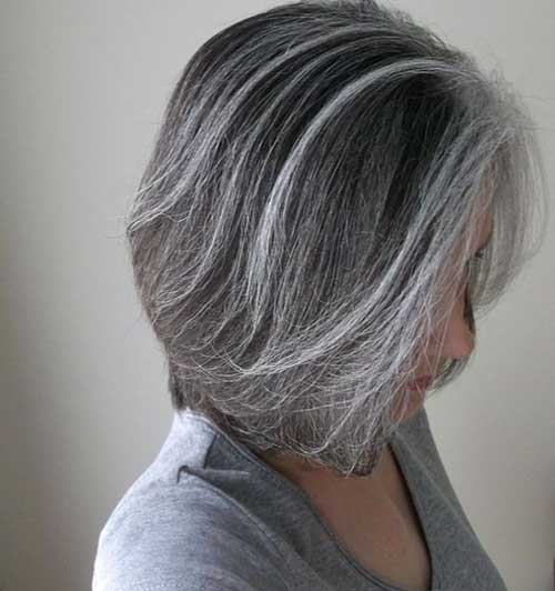 Grey Bob Hairstyles