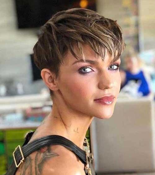 Ruby Rose Short Haircuts 2019-10