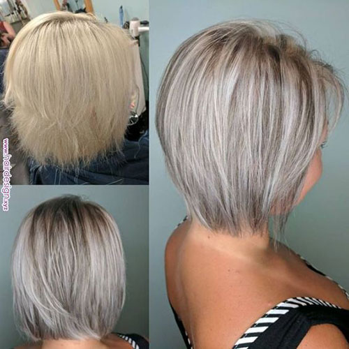 Short Medium Layered Ash Blonde Haircuts-10