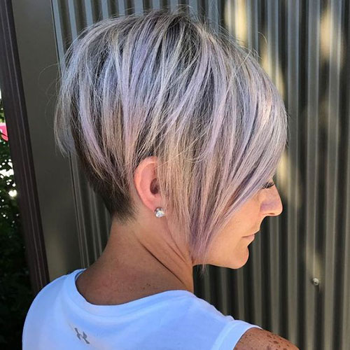Short Medium Layered Graduated Haircuts-13