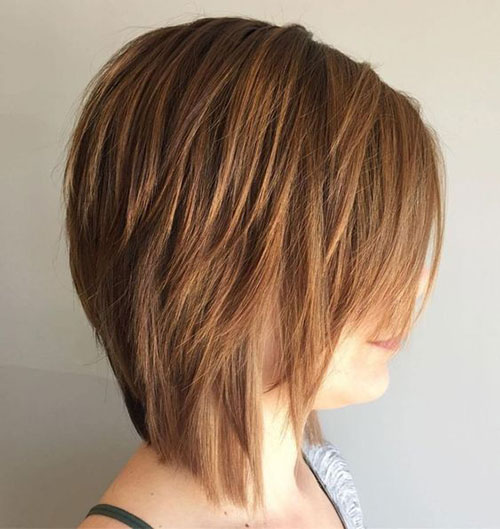 Short Medium Layered Haircuts-19