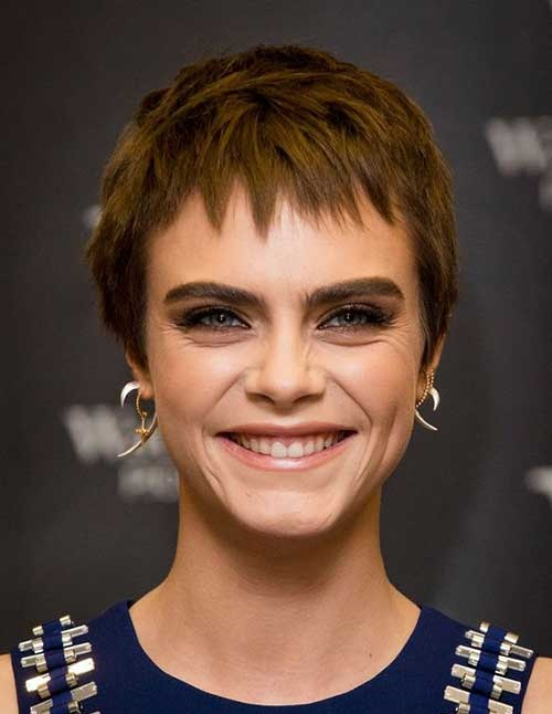 Celebrity Short Haircuts 2019-24