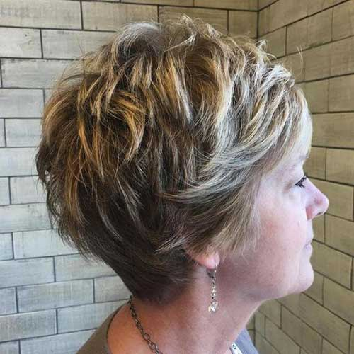 Short Choppy Layered Hair